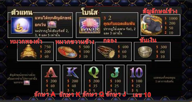 fortune thai payout rate